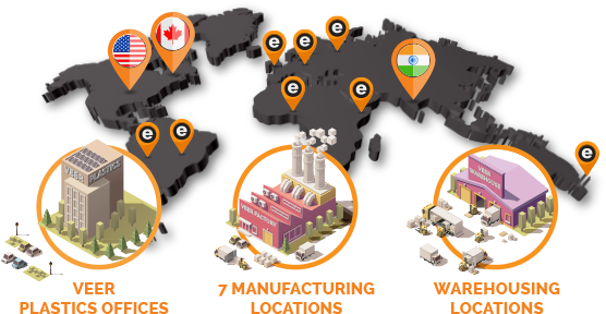 Veer Plastics Global Map